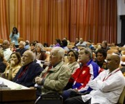 Personalidades de varios países acudieron para escuchar al académico y político dominicano. Foto: José Raúl Concepción/Cubadebate.