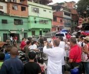 Llegada del mártir Robert Serra. Foto: Arnaldo Rodríguez.
