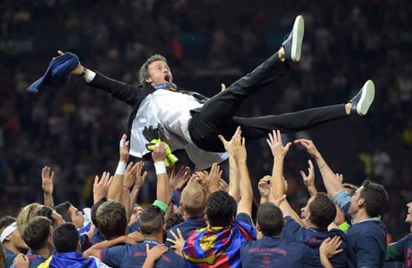 Luis Enrique elegido mejor entrenador de 2015.