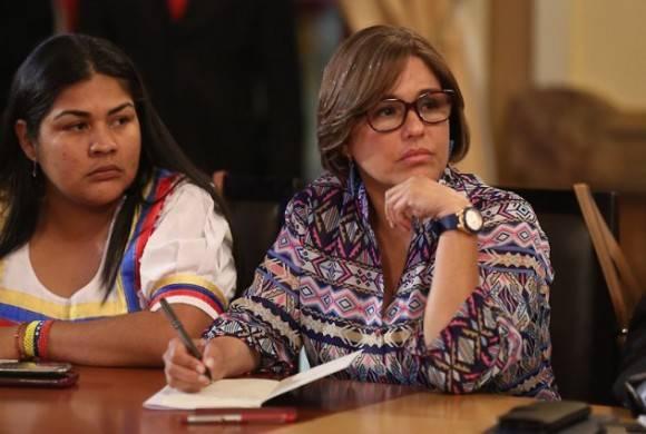 Luisana Melo ratificada como ministra de Salud. Foto: @PresidencialVen.