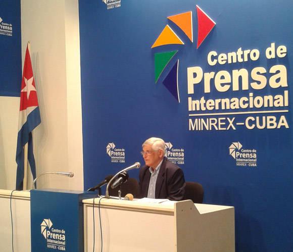 Carlos Zamora, Subidrector General de America Latina y Caribe. Foto: José Raúl Concepción/Cubadebate.