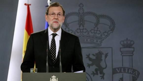 Rajoy dijo que velará por el cumplimiento de la ley y de la Constitución ante el desafío soberanista. Foto: EFE.