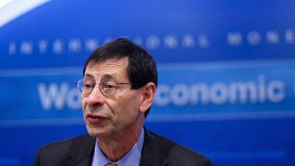 Maurice Obstfeld, economista-jefe del Fondo Monetario Internacional.  Foto: Bloomberg