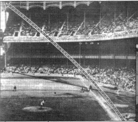 Mayo de 1956. Histórico jonrón de Mickey Mantle contra Pedro Ramos en el Yankee Stadium.