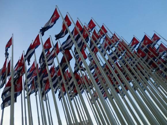 Monte de las Banderas Foto: Sergio Cruz Castillo / Cubadebate