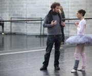 Natalie Portman y Darren Aranofsky en El Cisne Negro.