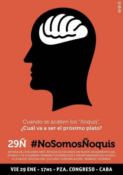 No somos Ñoquis-Argentina-Macri