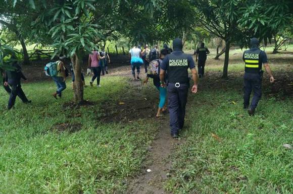 En noviembre pasado, las autoridades de Costa Rica desarticularon el núcleo de una red internacional de tráfico de cubanas y cubanos.(Foto: Internet)