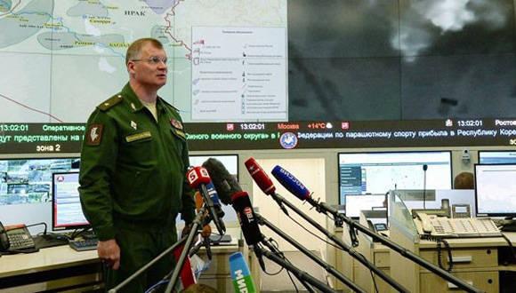 Portavoz del ministrio de defensa ruso