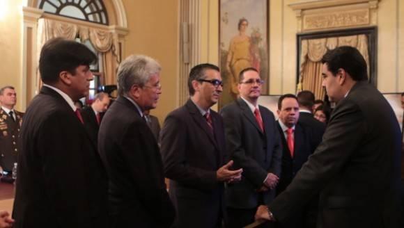 Presidente Maduro anuncia nuevo gabinete de gobierno.  Foto: AVN.