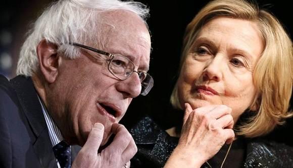 Bernie Sanders y Hillary Clinton son los favoritos por el Partido Demócrata.