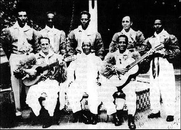 Septeto Nacional de Cuba con Ignacio Piñeiro.