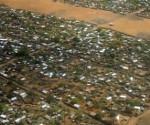 Campo de Dadaab, en Kenia, el más grande del mundo, del que escapan muchos refugiados somalíes. Foto: AFP.