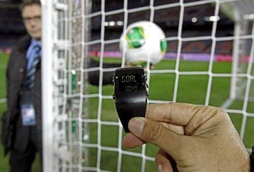 """El empleo de esta tecnología supondría evitar los llamados """"goles fantasmas"""". Foto tomada de hondurassoccer.com"""