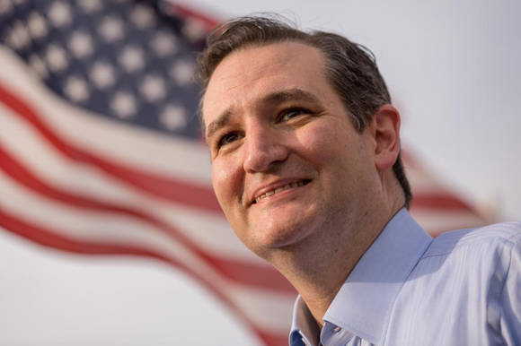 "Rafael Edward ""Ted"" Cruz no podría ser presidente de los Estados Unidos, pues nació en Canadá. Richard Ellis/Getty Images."