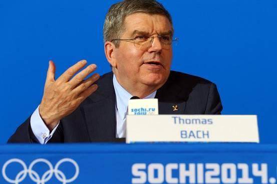 Thomas Bach. Foto tomada de internetvdeportes.com