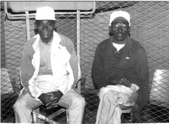 Tomás Valido (izquierda) y Apolinar Barrios. Foto: Archivo.