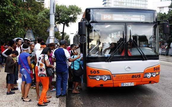 Cuban busmaker surpassed plan in 2016