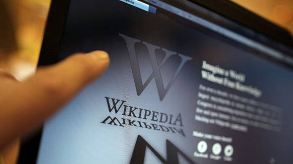 Wikipedia, la enciclopedia virtual gratuita y colaborativa que este mes celebró su 15 aniversario. Foto: Getty.