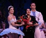La Prima Ballerina Assoluta Alicia Alonso (C), asistio a la Gala dedicada al Triunfo de la Revolución, en la reapertura del Gran Teatro de La Habana Alicia Alonso, el 1 de enero de 2016. Foto: ACN/ Marcelino Vázquez.