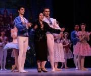 La Prima Ballerina Assoluta Alicia Alonso (durante la Gala dedicada al Triunfo de la Revolución, en la reapertura del Gran Teatro de La Habana Alicia Alonso, el 1 de enero de 2016. ACN /Marcelino Vázquez Hernández.