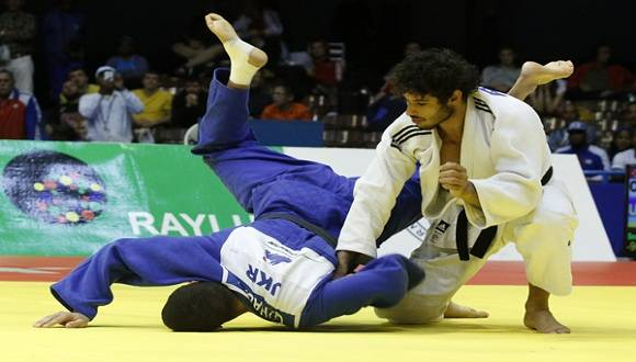 Asley González luchará el oro en Grand Prix de Judo. Foto: Roberto Morejón.