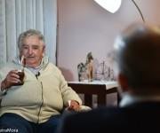 Pepe Mujica entrevistado por Randy Alonso para la Mesa Redonda, 25 de enero de 2016. Foto: William Silveira Mora