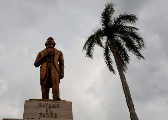 Estatua de Carlos Manuel de Céspedes, el Padre de la Patria. Foto: Ismael Francisco/ Cubadebate