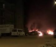 Ataque al hotel Splendid en Burkina Faso. (Foto: AP)