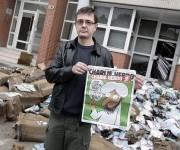 Dibujante Cabu, una de las víctimas del atentado contra Charlie Hebdo, condecorado con la Legión de Honor.