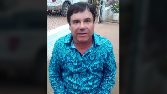 Joaquín Archivaldo Guzmán Loera, El Chapo, in a video interview he sent from an undisclosed location