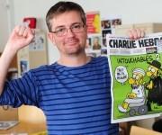 Dibujante Charb, una de las víctimas del atentado contra Charlie Hebdo.