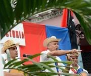 CUBA-CIEGO DE ÁVILA-REEDITAN PASO TRIUNFAL DE LA CARAVANA DE LA LIBERTAD