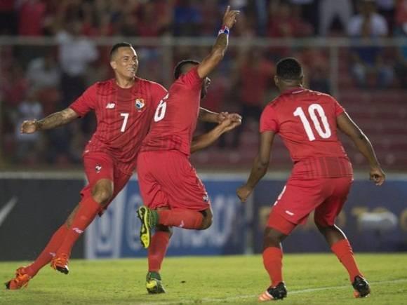 Cuba sucumbió ante Panamá 4 goles x 0.