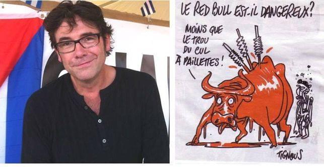 Tignous, condecorado con la Legión de Honor, uno de los dibujantes que fue víctima del atentado contra Charlie Hebdo.