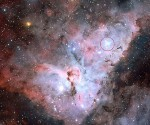 Foto: Cúmulo estelar Trumpler 14 / NASA