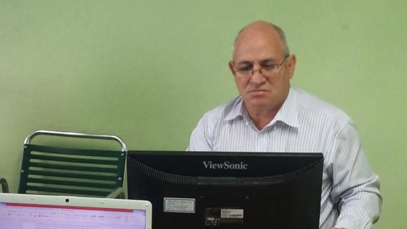 José Fidel Santana Núñez. Foto: Zulema Samuel del Sol.