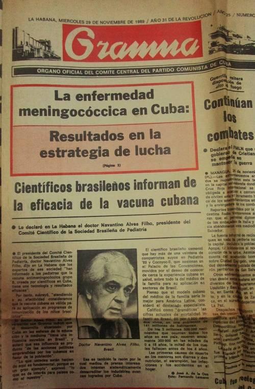 Una Comisión cubano-brasileña que estimó el impacto de la vacunación en varios estados brasileños encontró una disminución inmediata en el número de casos en la población vacunada de acuerdo a los datos epidemiológicos recopilados.