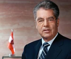 Presidente de Austria, Heinz Fischer. Foto: Archivo.
