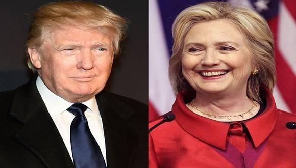 Un sondeo da a los precandidatos demócrata y republicano casi los mismos resultados en intención de voto en las presidenciales.