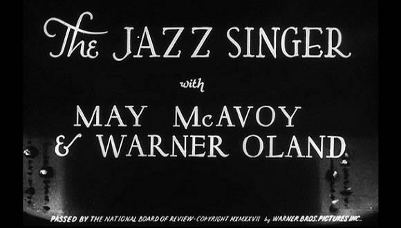 Película El Cantor del Jazz.