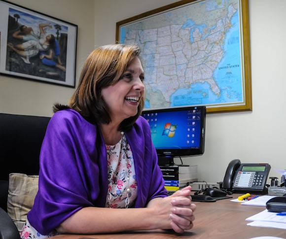 Josefina Vidal, directora general del Departamento de Estados Unidos de la Cancillería cubana. Foto: Abel Padrón Padilla / Agencia Cubana de Noticias