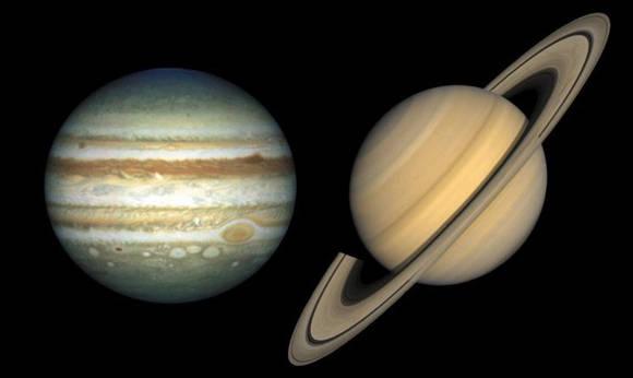 El hidrógeno metálico podría hallarse en el interior de planetas como Júpiter y Saturno.