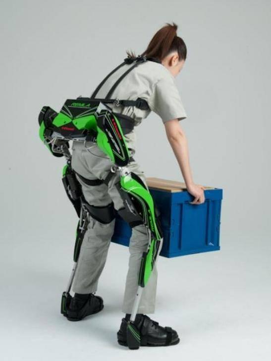 Crean un traje de músculo para prevenir lesiones por cargar mucho peso