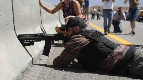 Más de un millar de estos grupos operan en el país, diez veces más que antes de la llegada del presidente a la Casa Blanca. Foto: Reuters