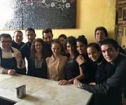 Natalie Portman en el restaurante cubano La Guarida.