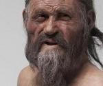 Recreación del rostro de Ötzi, el «hombre de hielo». Esta momia es la más antigua del mundo y ha sido muy estudiada por la ciencia.
