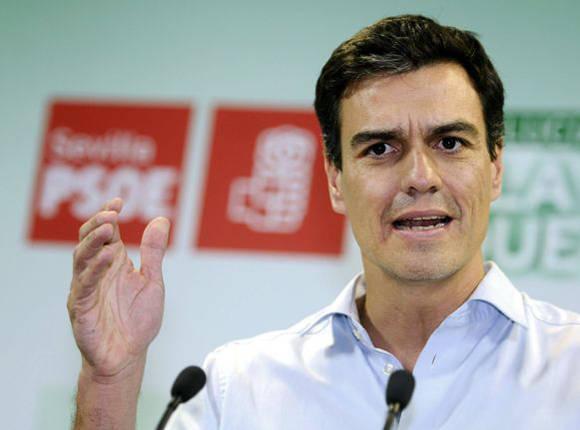 """""""No es no"""" le dice Pedro Sánchez a Rajoy. Foto tomada de El Economista."""