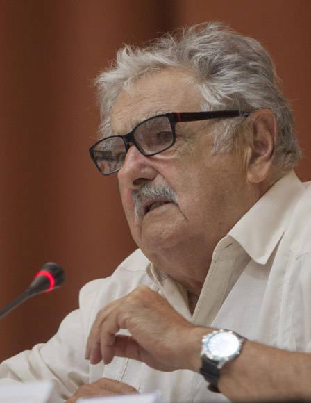 Conferencia Magistral de Pepe Mujica. Foto: Ismael Francisco/Cubadebate.