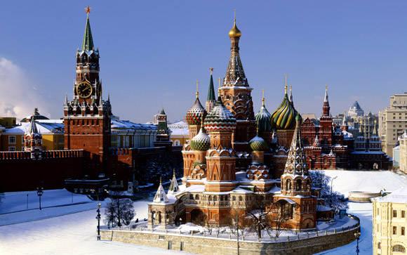 El famoso Kremlin de la Plaza Roja.